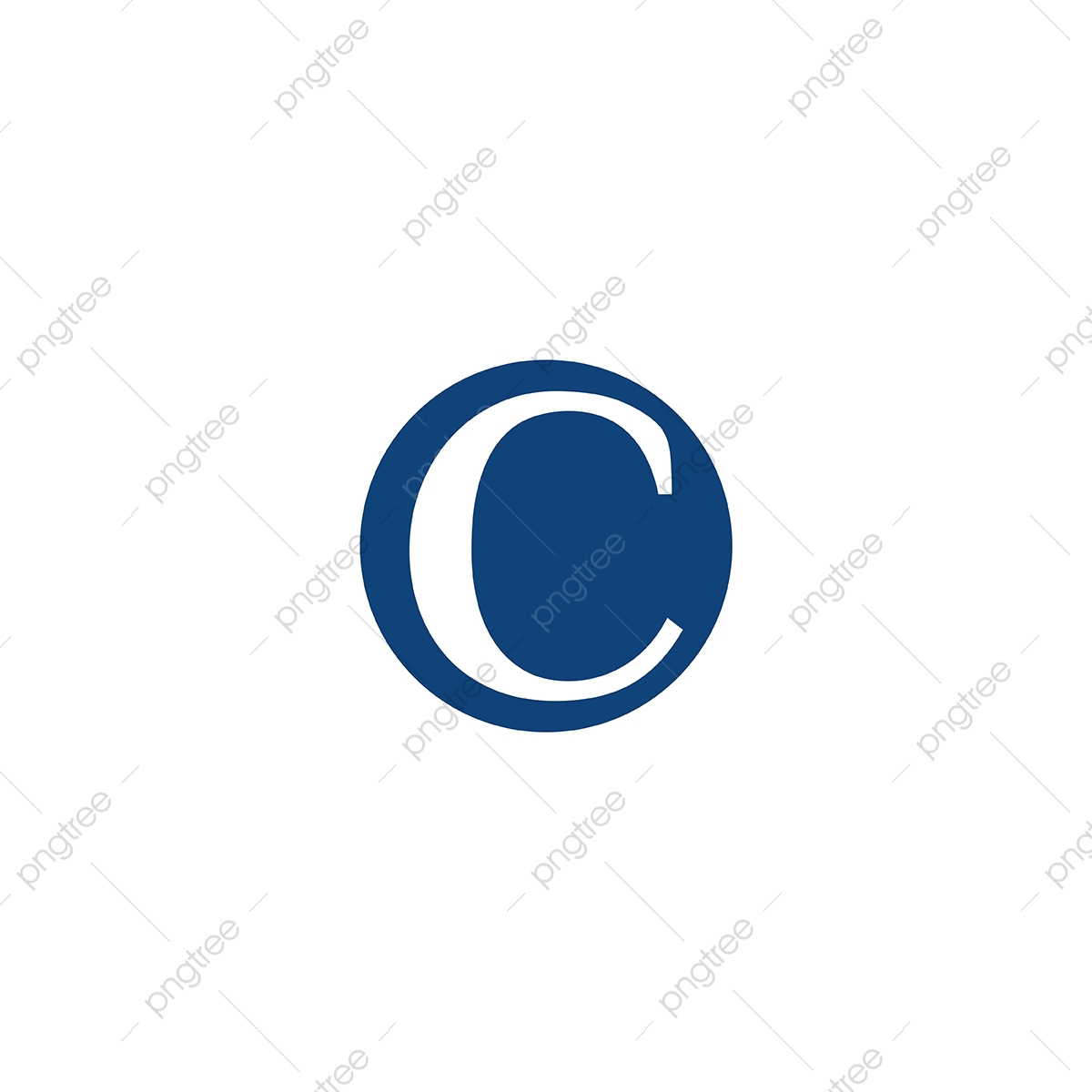 Letter C Negative Space Logo Designs Inspiration Isolated On Whi