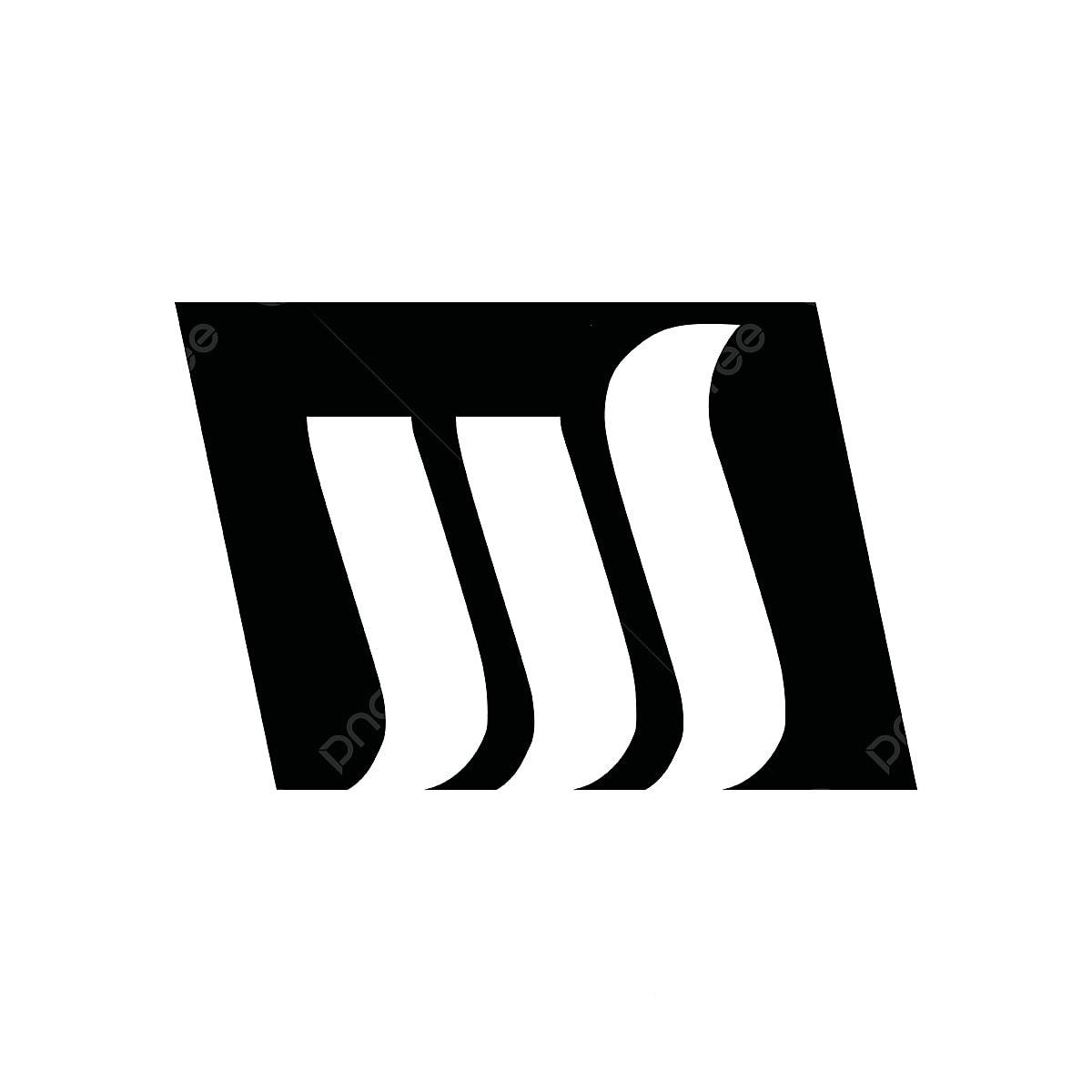 Negative Space Letter W M Logo Design Inspiration Logo Symbol