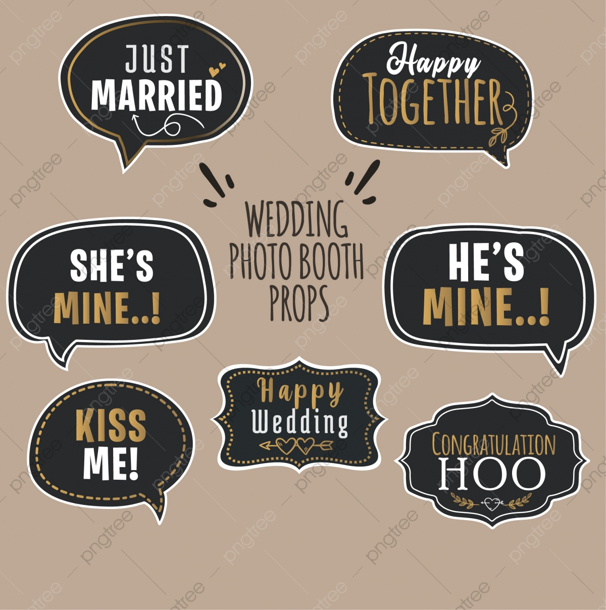 Props Photobooth Png Images Vector And Psd Files Free Download On Pngtree