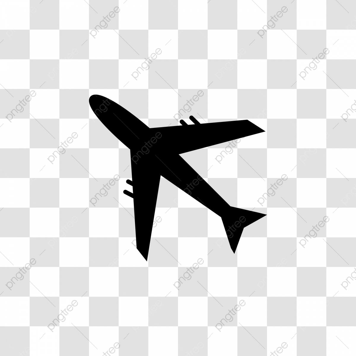 Plane Icon Isolated Plane Icons Plane Isolated Png And Vector