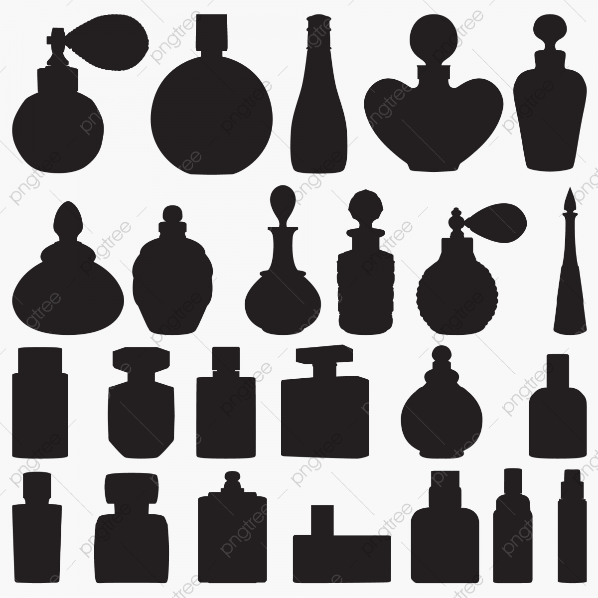 19 Old Fashioned Perfume Bottle Clipart! - The Graphics Fairy