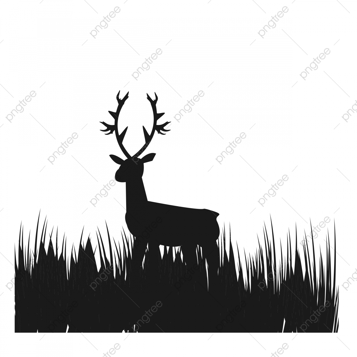 simple picture deer in the grass field vector logo and illustration logo icons picture icons simple icons png and vector with transparent background for free download https pngtree com freepng simple picture deer in the grass field vector logo and illustration 5007425 html