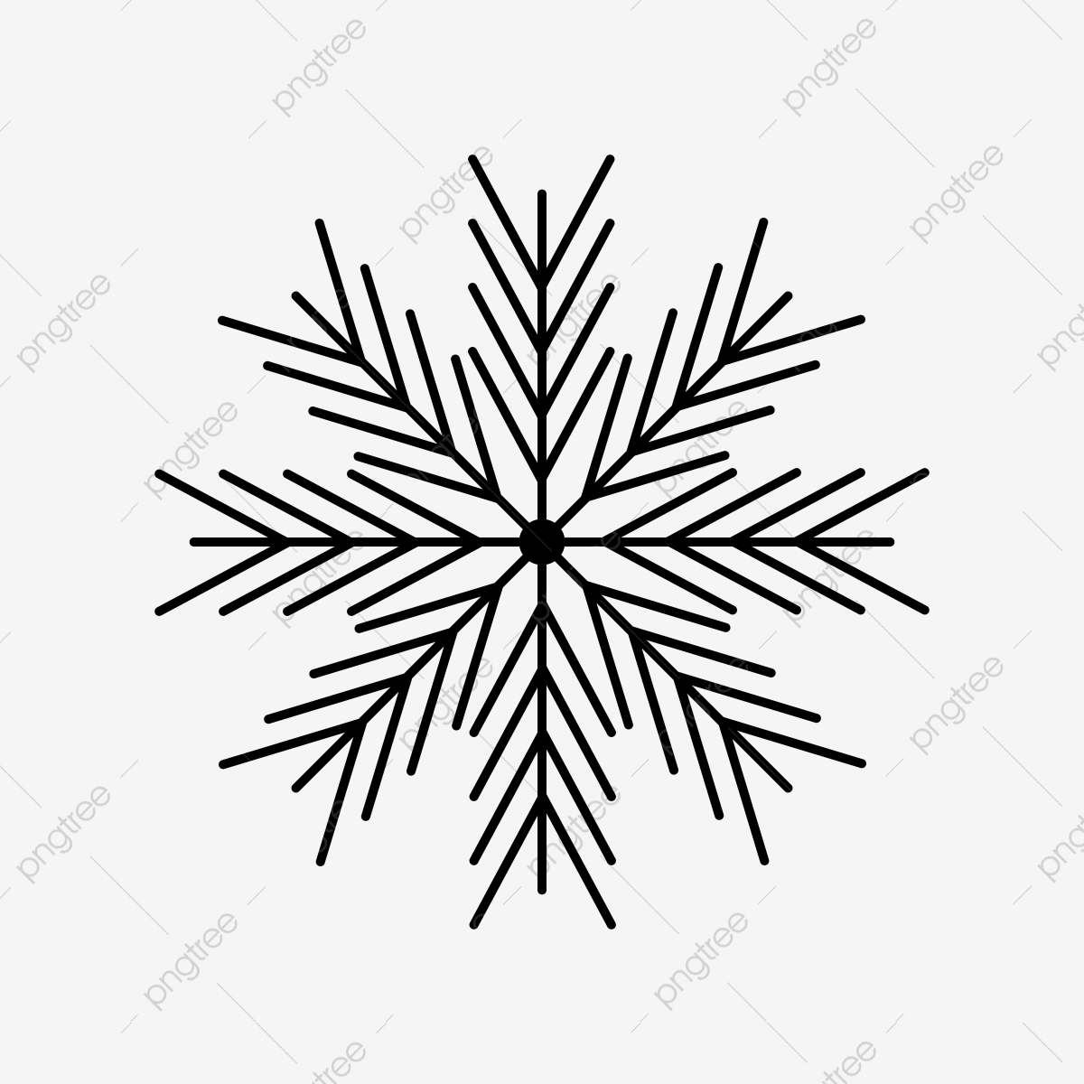 Transparent Background Snowflakes Clipart , Png Download - Transparent  Background Snowflake Clipart, Png Download - kindpng