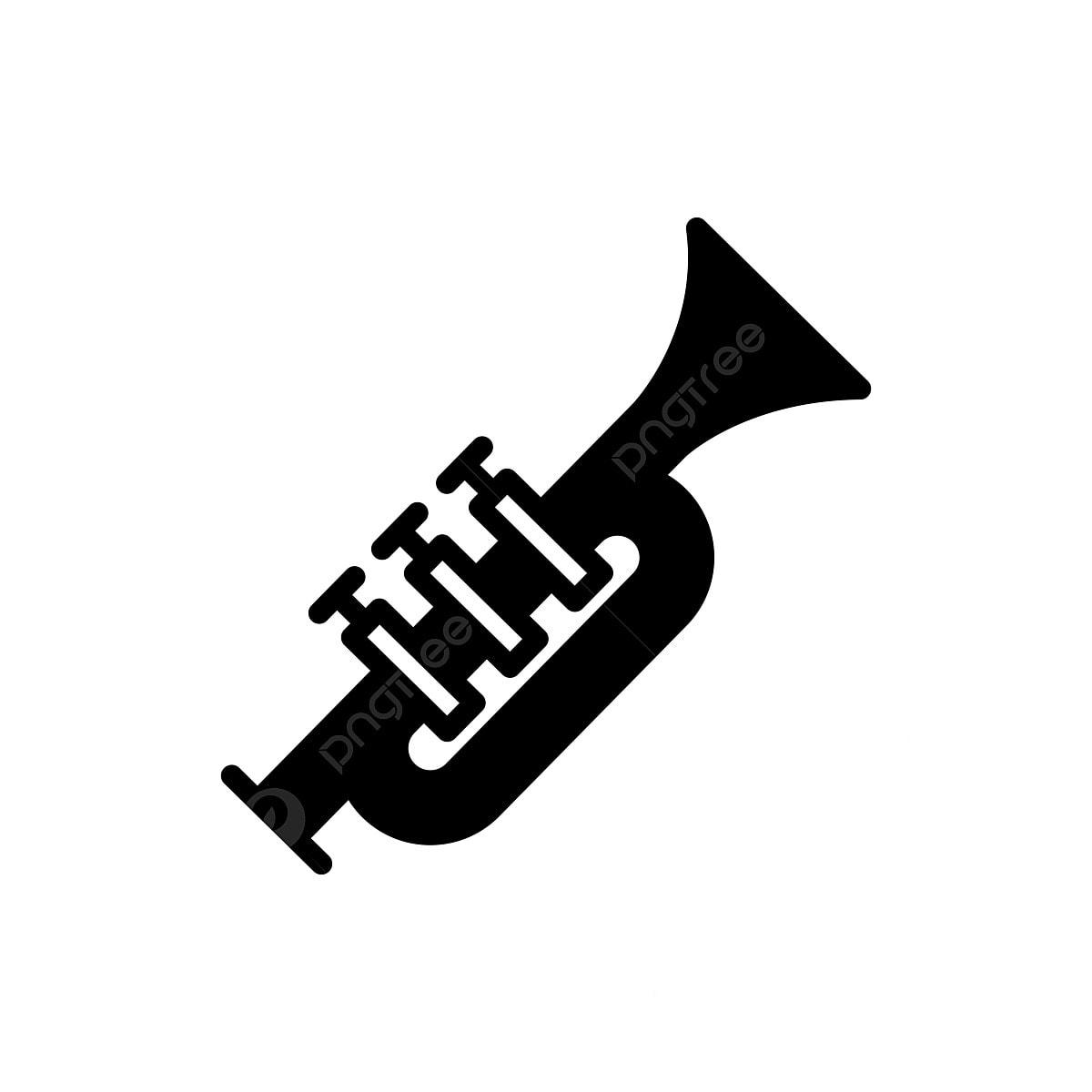 Trumpet Silhouette Vector Download 12 Trumpet Vectors | Silhouette vector,  Silhouette clip art, Music silhouette