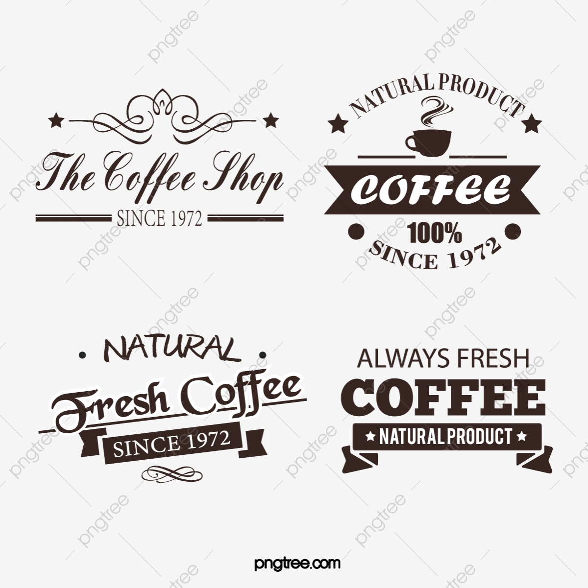 Vintage Flower Body Creative Fashion Coffee Shop Creative Art Word Logo Design Vintage Flower Body Creative Png And Vector With Transparent Background For Free Download