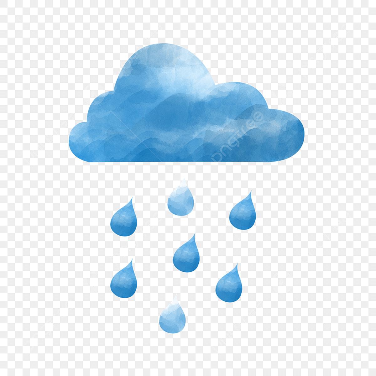 المائية تتفتح سحابة يوم ممطر في يوم ممطر ألوان مائية الغيوم Png وملف Psd للتحميل مجانا