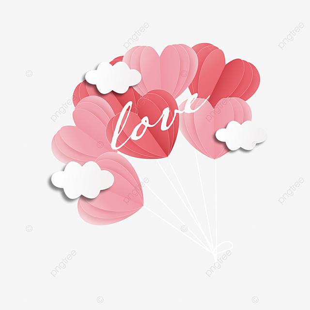 valentine s day paper cut love