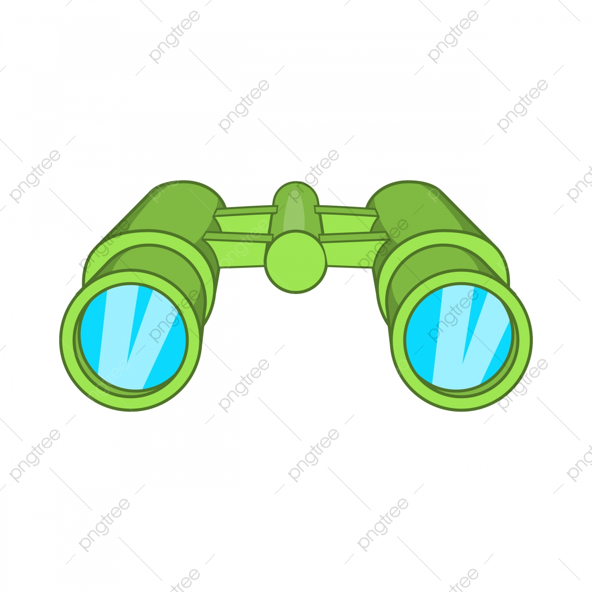 Binoculars Icon In Cartoon Style Style Icons Cartoon Icons Binoculars Icons Png And Vector With Transparent Background For Free Download