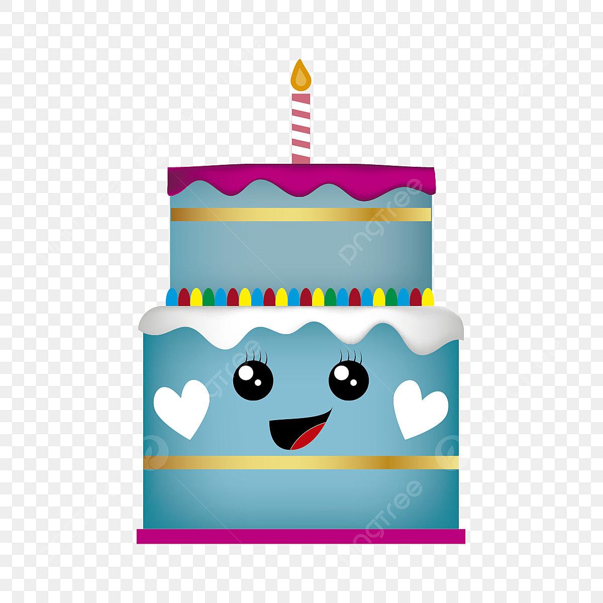Pleasing Birthday Cake Cute Kawaii Style Cake Birthday Cute Png And Personalised Birthday Cards Veneteletsinfo