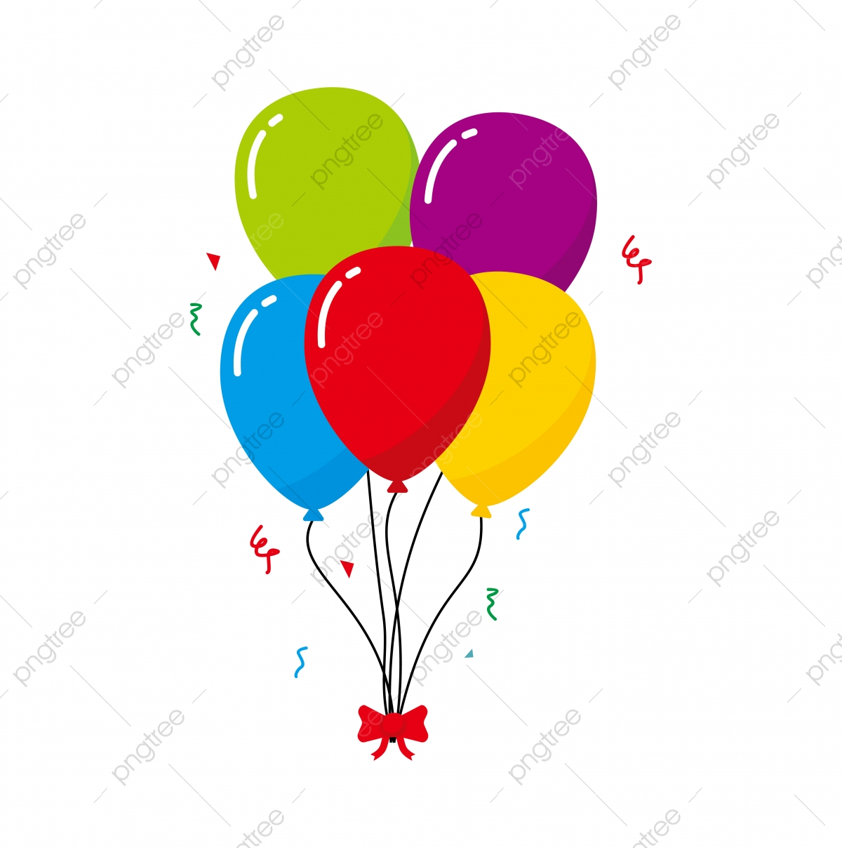 bunch of balloon vector illustration isolated on white background balloon  clip art, balloon, vector, clip art png and vector with transparent  background for free download  pngtree