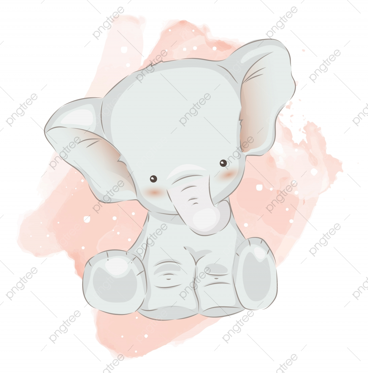 Baby Elephant Png Images Vector And Psd Files Free Download On Pngtree Grey baby elephant poster, african elephant indian elephant illustrator illustration, watercolor elephant transparent background png clipart. https pngtree com freepng cute baby elephant illustration for decoration 5100336 html