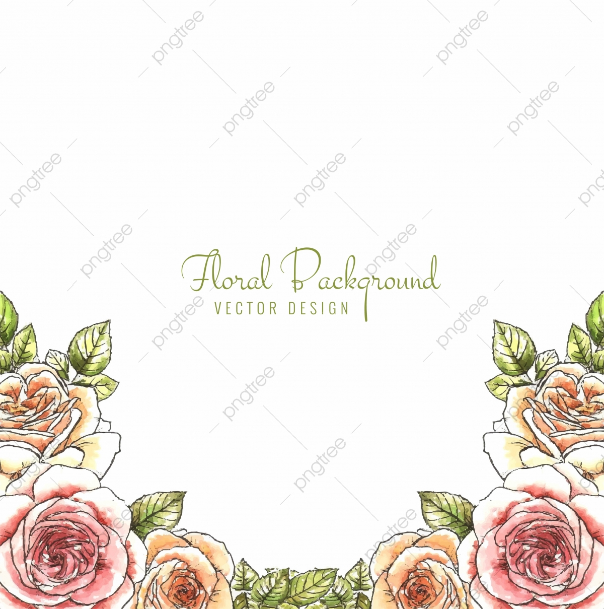 Decorative Colorful Wedding Anniversary Flowers Background Vector Abstract Wedding Invitation Png And Vector With Transparent Background For Free Download