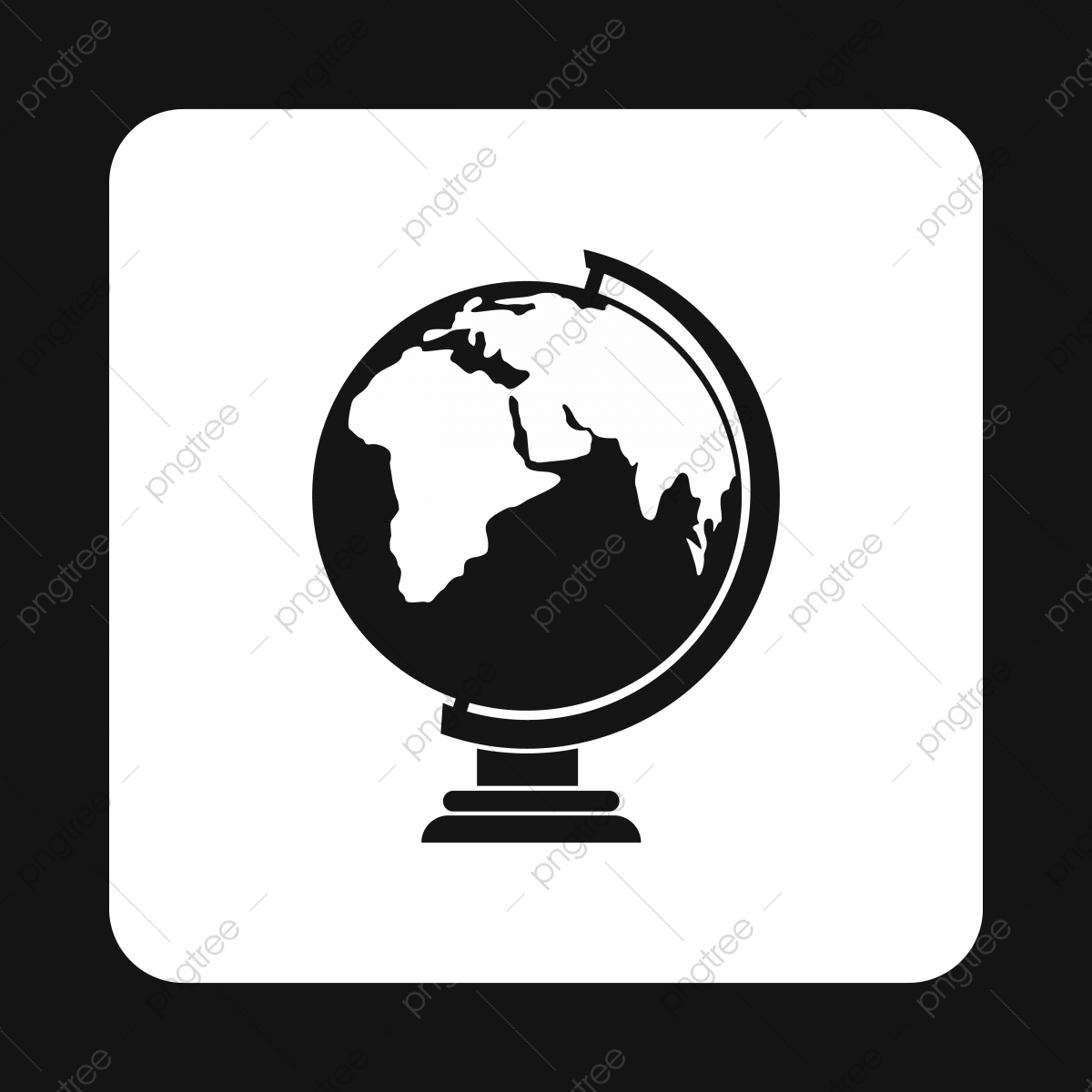 Black And White Globe Png Vector Psd And Clipart With Transparent Background For Free Download Pngtree