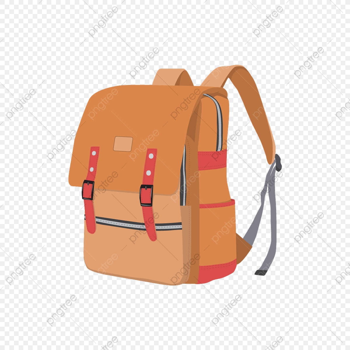 Leather School Bag Vector Red Bag School Bag Travel Bag Png And Vector With Transparent Background For Free Download