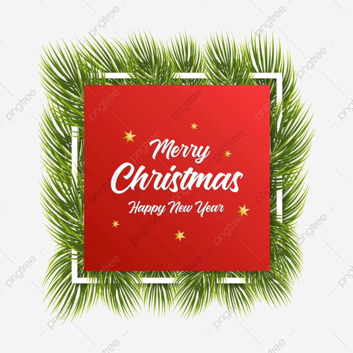The Best Merry Christmas And A Happy New Year Png