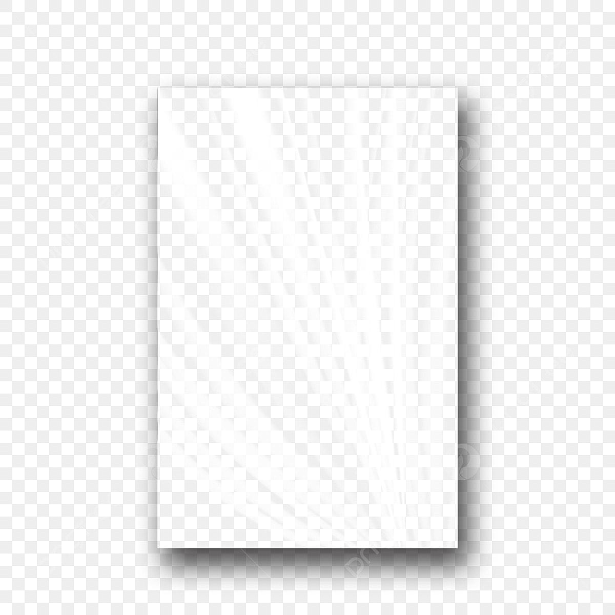 Plastic Polyethylene Vector Transparent Cellophane Glossy