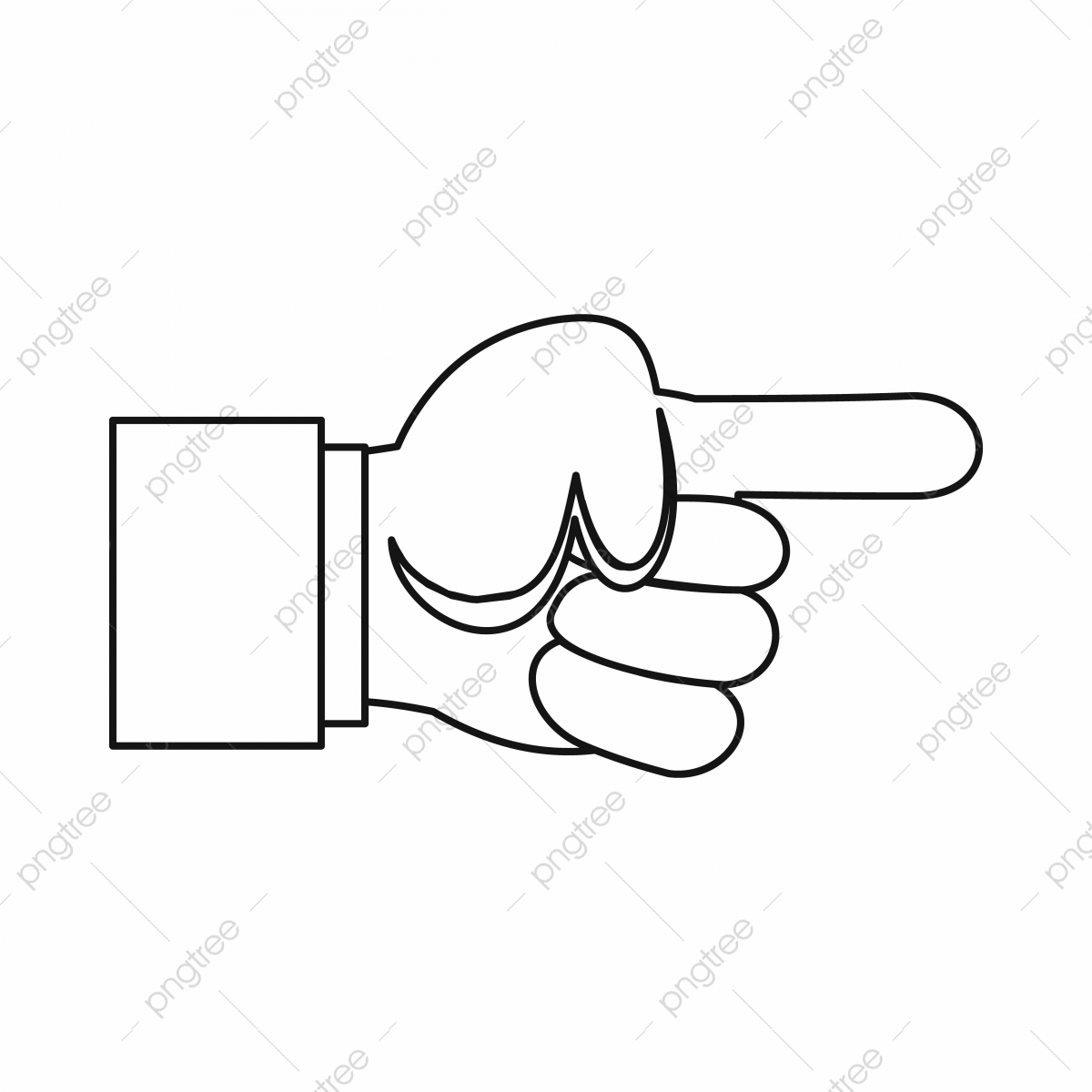 pointing hand png images vector and psd files free download on pngtree https pngtree com freepng pointing hand gesture icon outline style 5098460 html