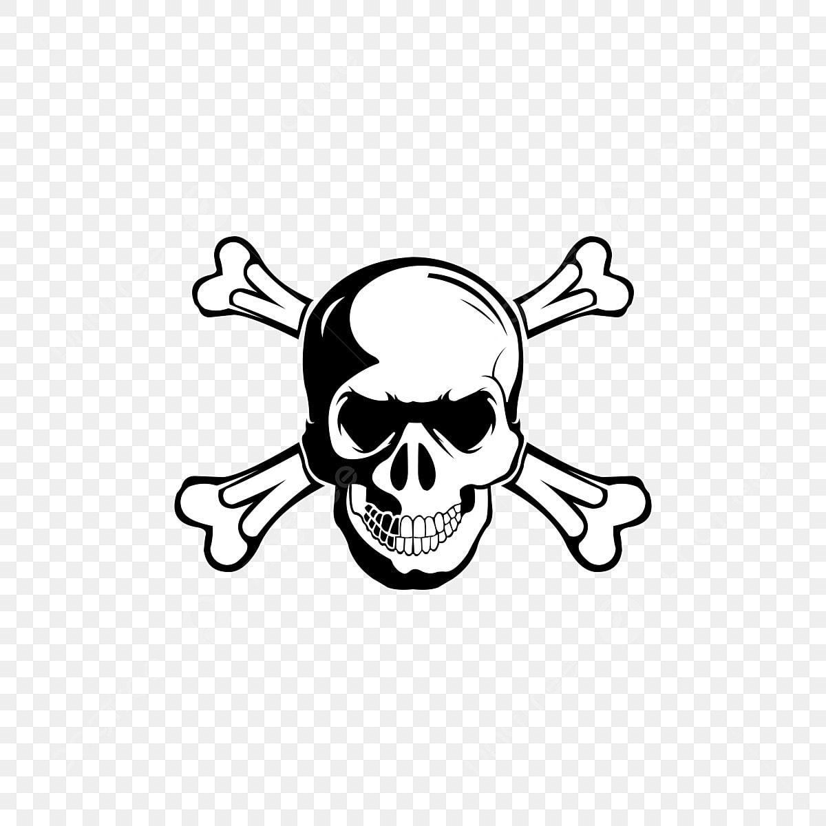 Immagini Di Teschio Pirati teschio croce osso vettore pirata icona logo fantasma di