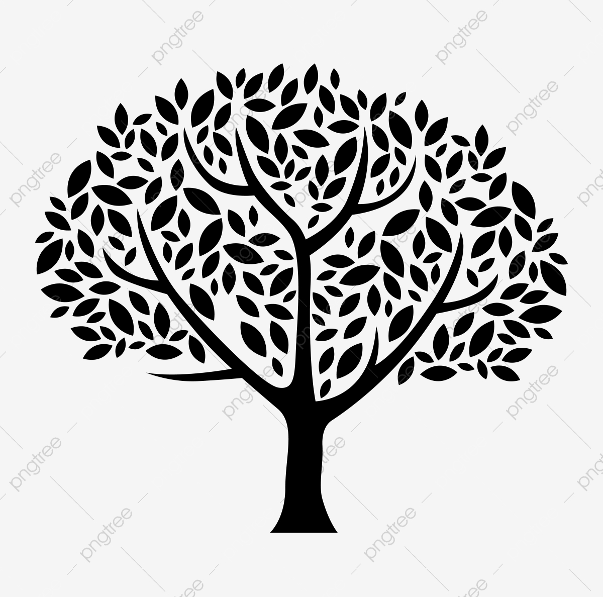 Tree Silhouette Png Vector Psd And Clipart With Transparent Background For Free Download Pngtree