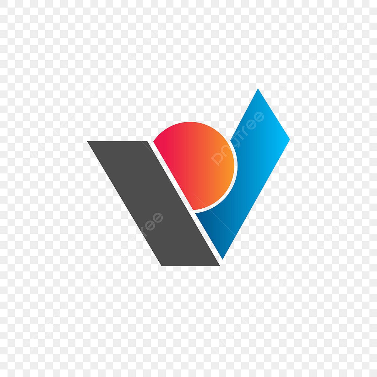 V Letter Logo Design V V Logotype Png And Vector With Transparent Background For Free Download