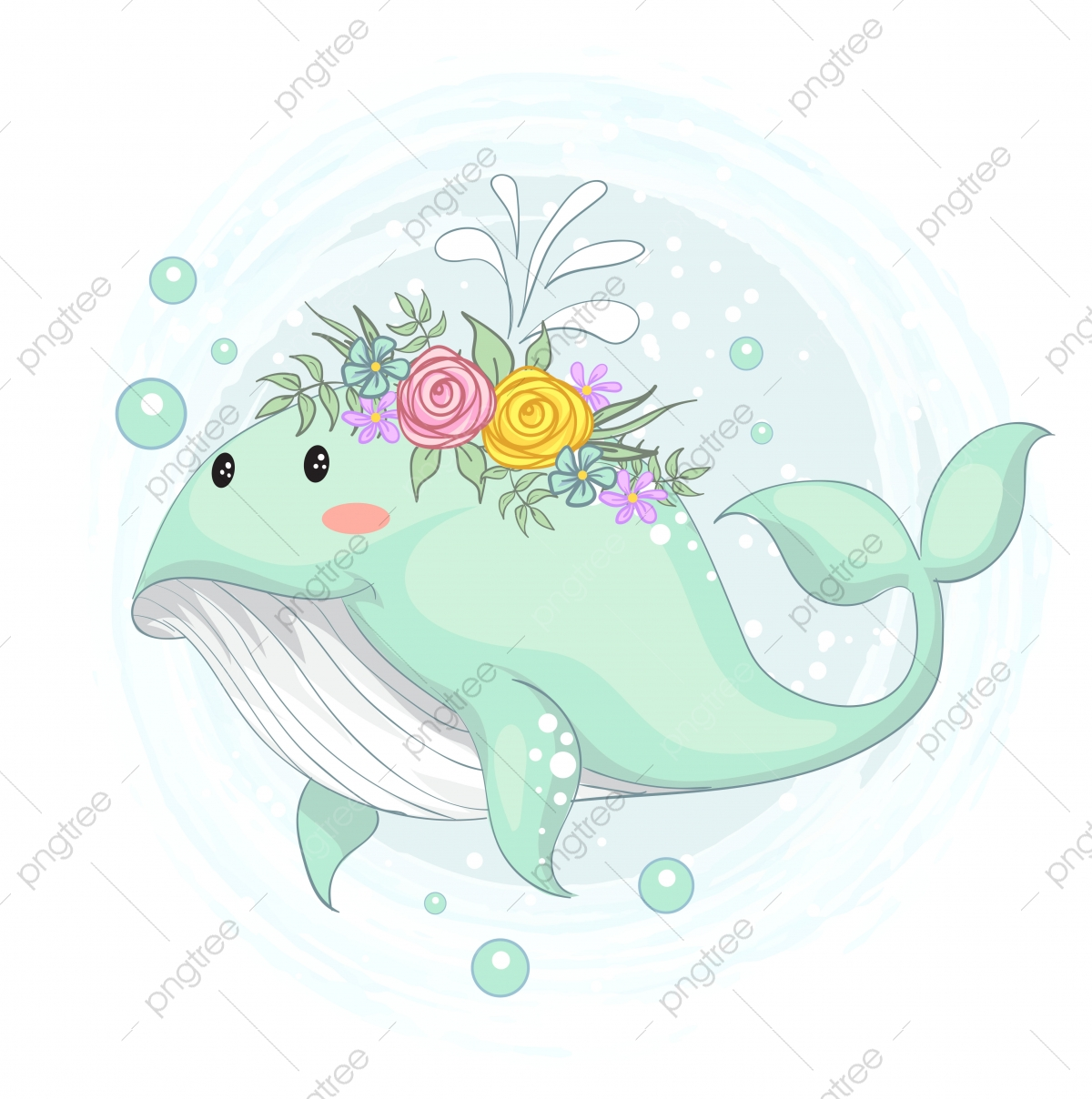 Flower Crown Png Images Vector And Psd Files Free Download On Pngtree Buy cheap cartoon skulls online from china today! https pngtree com freepng vector illustration of a cute whale with a flower crown hand draw 5103530 html