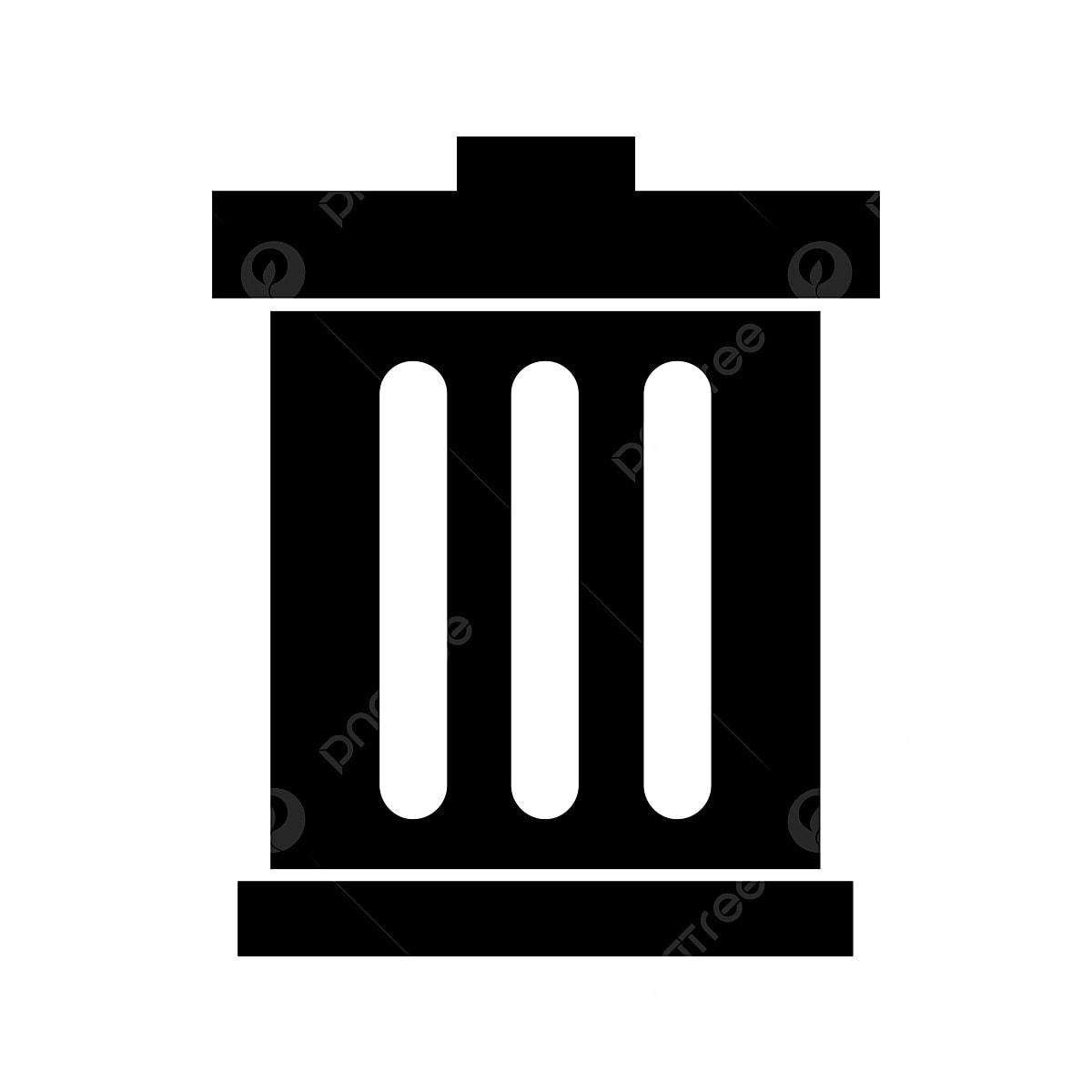 ikon tempat sampah vektor ikon tempat sampah menghapus tempat sampah png dan vektor dengan latar belakang transparan untuk unduh gratis pngtree