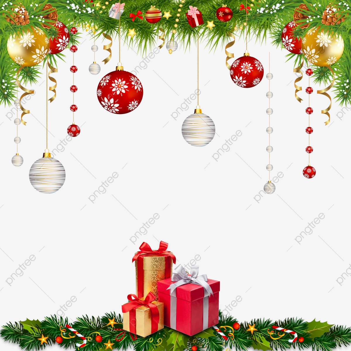 Christmas Decoration Png Images Vector And Psd Files Free Download On Pngtree