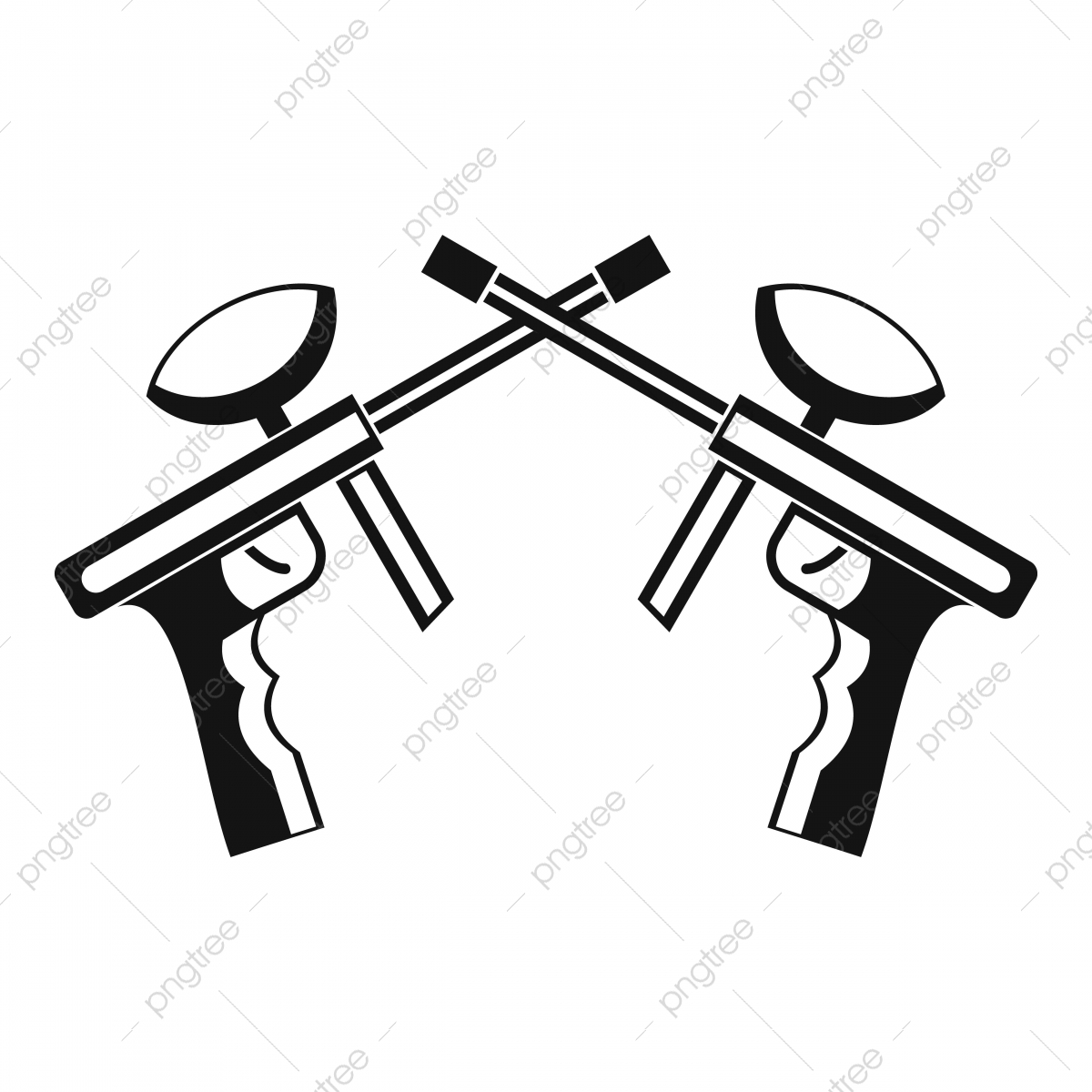 Paintball Guns Icon Simple Style Style Icons Simple Icons Gun Png And Vector With Transparent Background For Free Download
