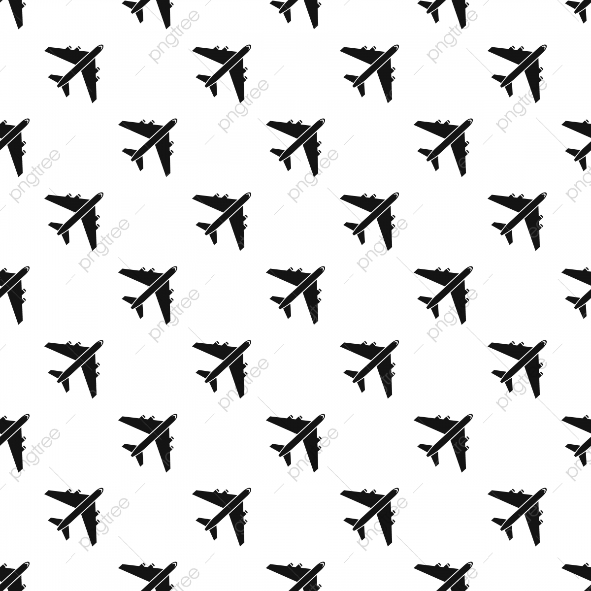 Plane Pattern Simple Style Plane Icons Style Icons Simple Icons Png And Vector With Transparent Background For Free Download