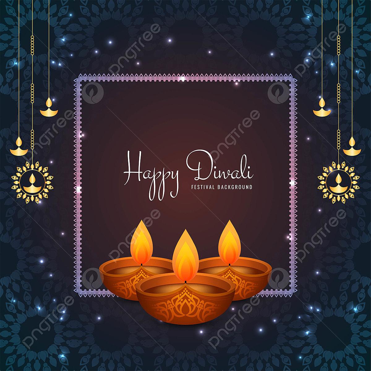 Celebration Joyeuse Diwali Fond Diwali Contexte Banner Png Et Vecteur Pour Telechargement Gratuit
