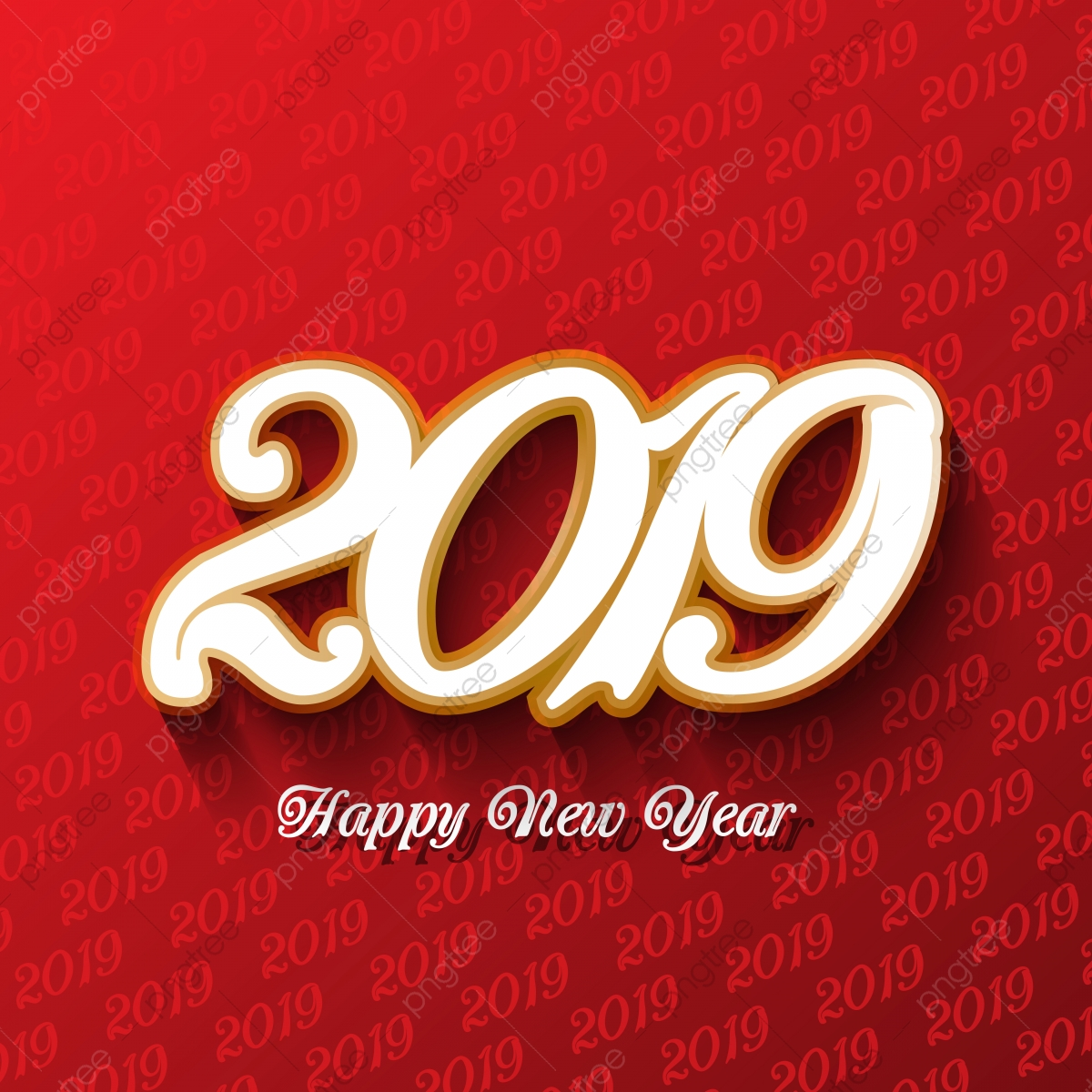 Happy New Year 2020 Background Fireworks — Stock Vector © tieulong  #227294100