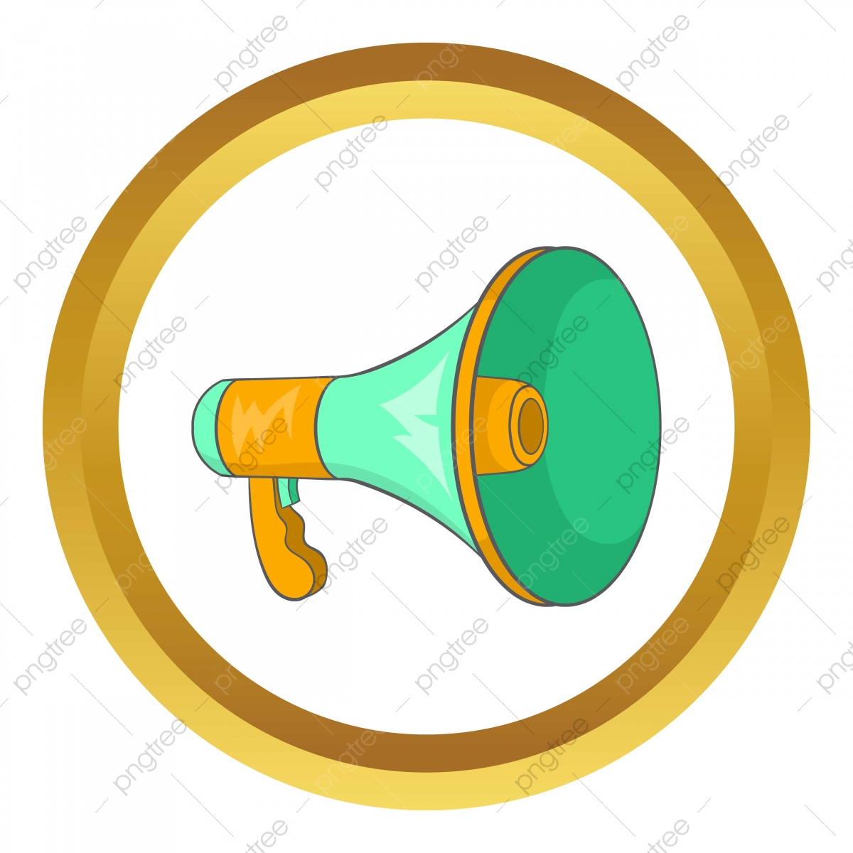 green loudspeaker vector icon green icons loudspeaker icons cartoon png and vector with transparent background for free download https pngtree com freepng green loudspeaker vector icon 5196660 html
