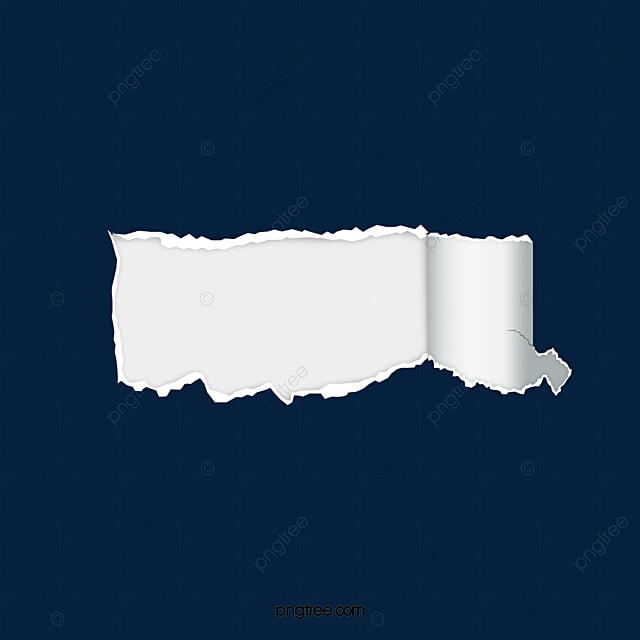 Paper Tear Effect Elements Paper Tear Effect Ripped Paper Tear