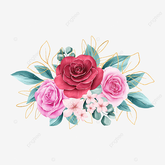 Hand Holding Bouquet Of Rose Flowers Minimalism Continuous One Line  Drawing, Bouquet, Flower, Rose PNG and Vector with Transparent Background  for Free Download