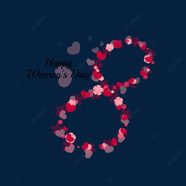 38 women s day creative petals