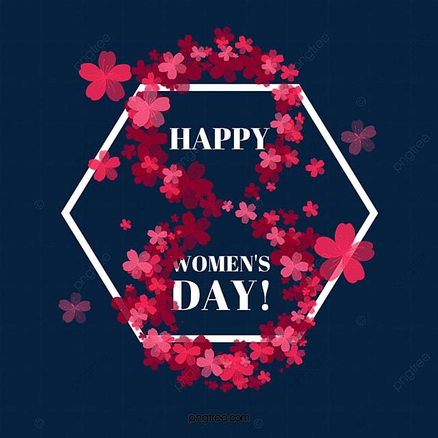 beauty women s day art petals