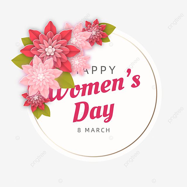 flowers flower plant women s day card