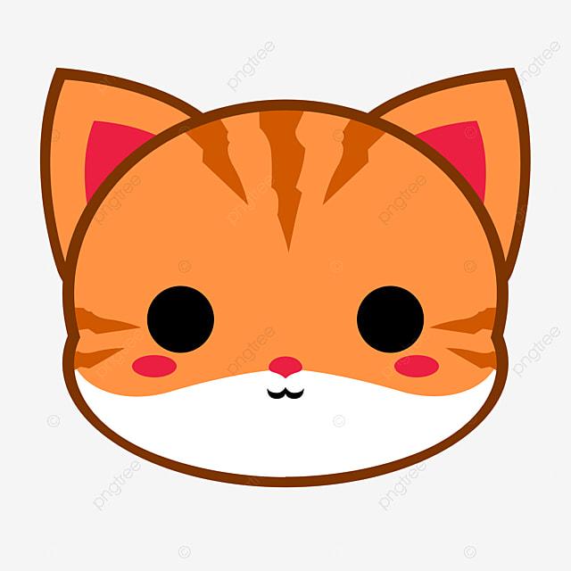 21+ Kepala Kucing Clipart