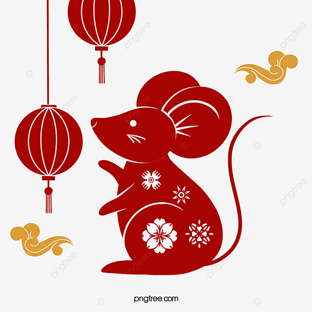 chinese style classical mouse element