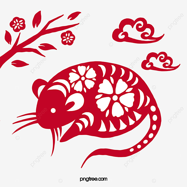 classical new year mouse