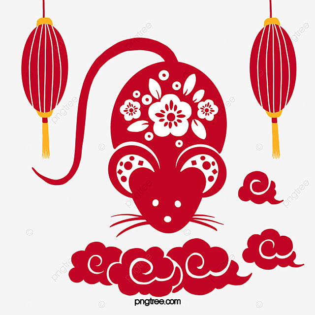 year of the rat traditional new year little mouse