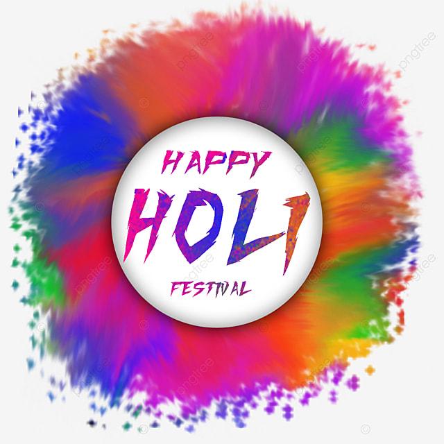 happy holi colorful splatter color splas