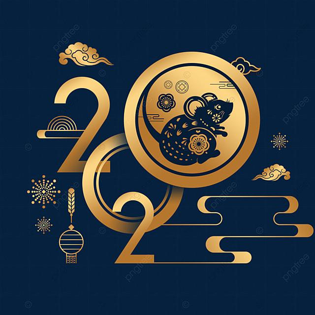 2020 new year rat year