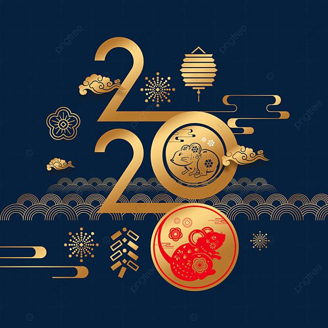 happy chinese new year in 2020