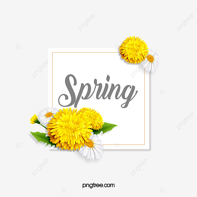 spring day three dimensional paper cut flower plant