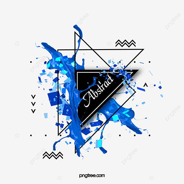 blue creative text box