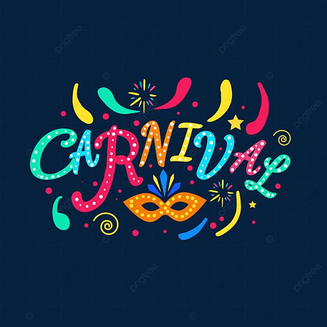 colorful hand drawn carnival celebration creative elements