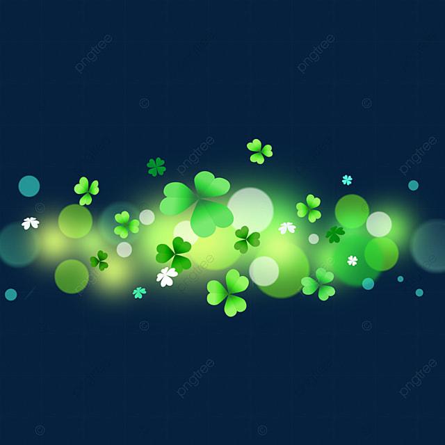 lucky clover green light effect