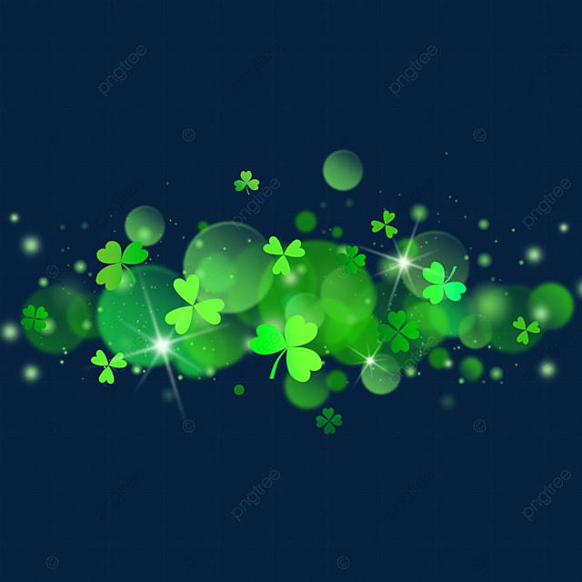 shamrock green spot decoration