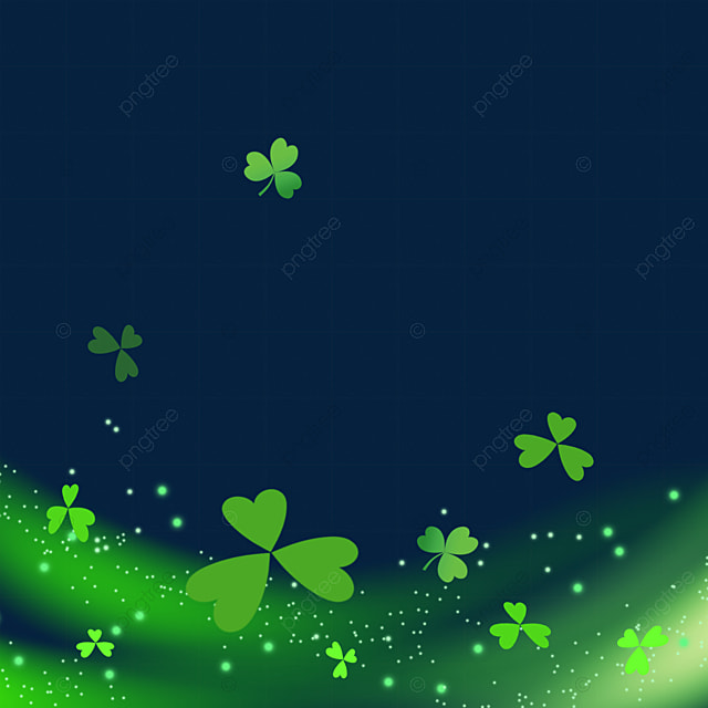 st patrick s day clover simple beam